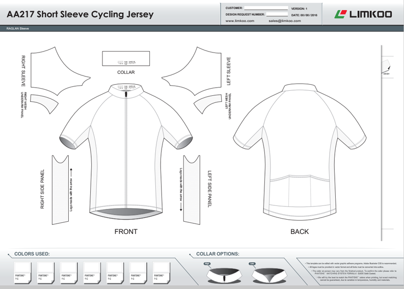 Short sleev cycling jersey template code aa217 pronofoot35fo Image collections