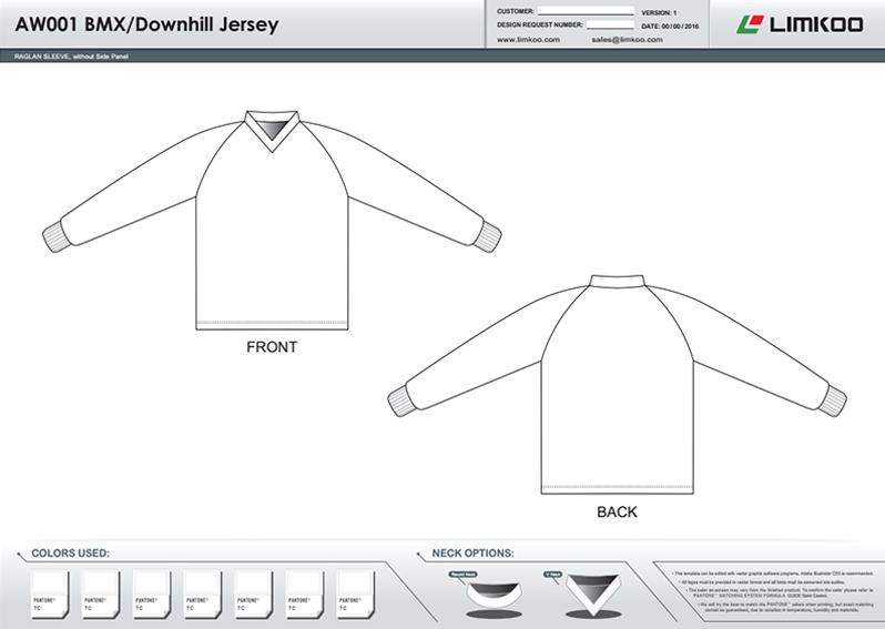 long sleeve bmx jersey. Black Bedroom Furniture Sets. Home Design Ideas