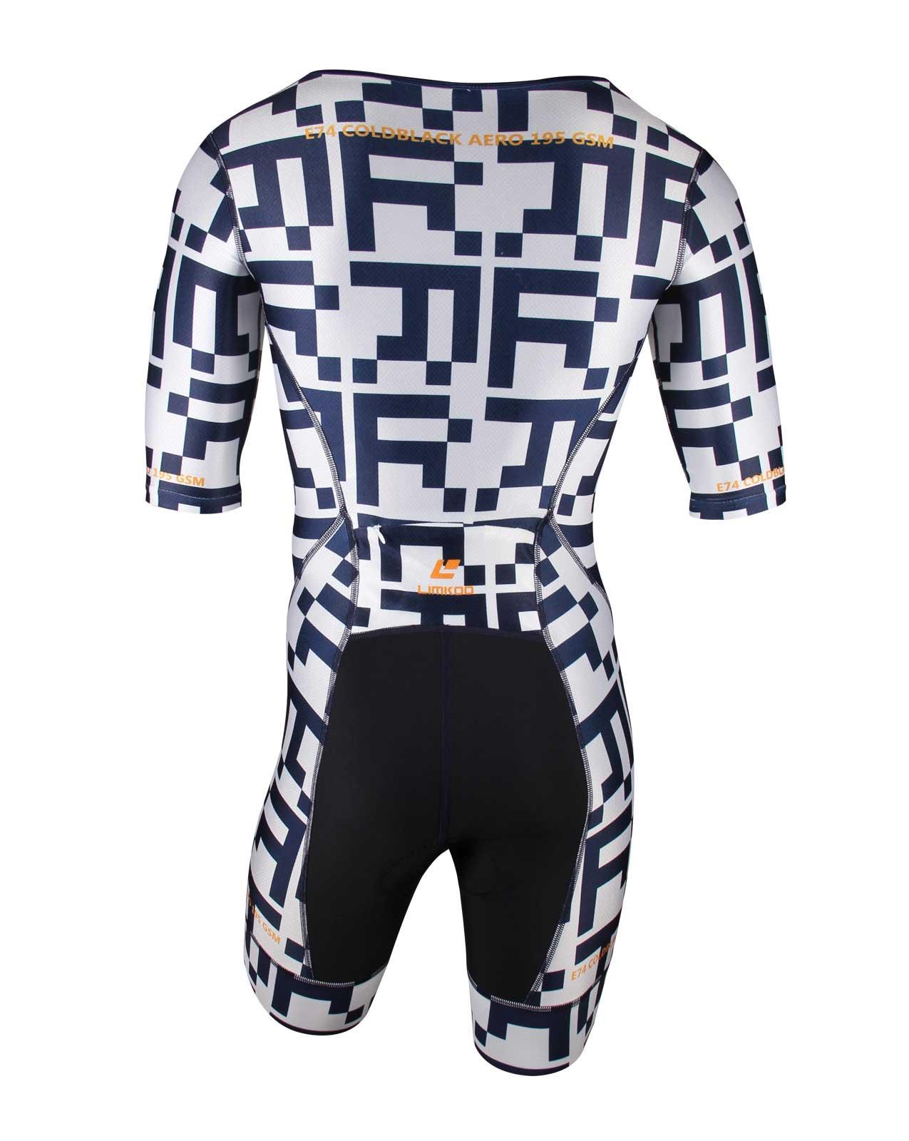 303cb601836 Swiss COLDBLACK AERO Short Sleeve Tri Suit
